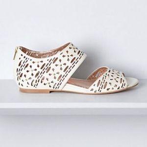 Anthropologie Miss Albright Jetta Cutout Sandals